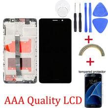 オリジナル液晶   フレーム Huawei 社メイト 9 液晶ディスプレイタッチスクリーンデジタイザ Huawei 社 Mate9 MHA-L09 MHA-L29 液晶画面交換