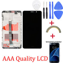 Originele LCD + Frame Voor HUAWEI Mate 9 Lcd Touch Screen Digitizer Voor Huawei Mate9 MHA L09 MHA L29 Lcd scherm vervanging