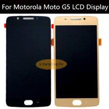 100% Протестировано для 5,0 'Motorola Moto G5 ЖК-дисплей с сенсорным экраном дигитайзер сборка XT1685 XT1672 дисплей для Motorola Moto G5 ЖК-дисплей