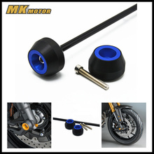 For KYMCO AK550  2017 Front&rear wheels CNC Modified Motorcycle front&rear drop ball / shock absorber