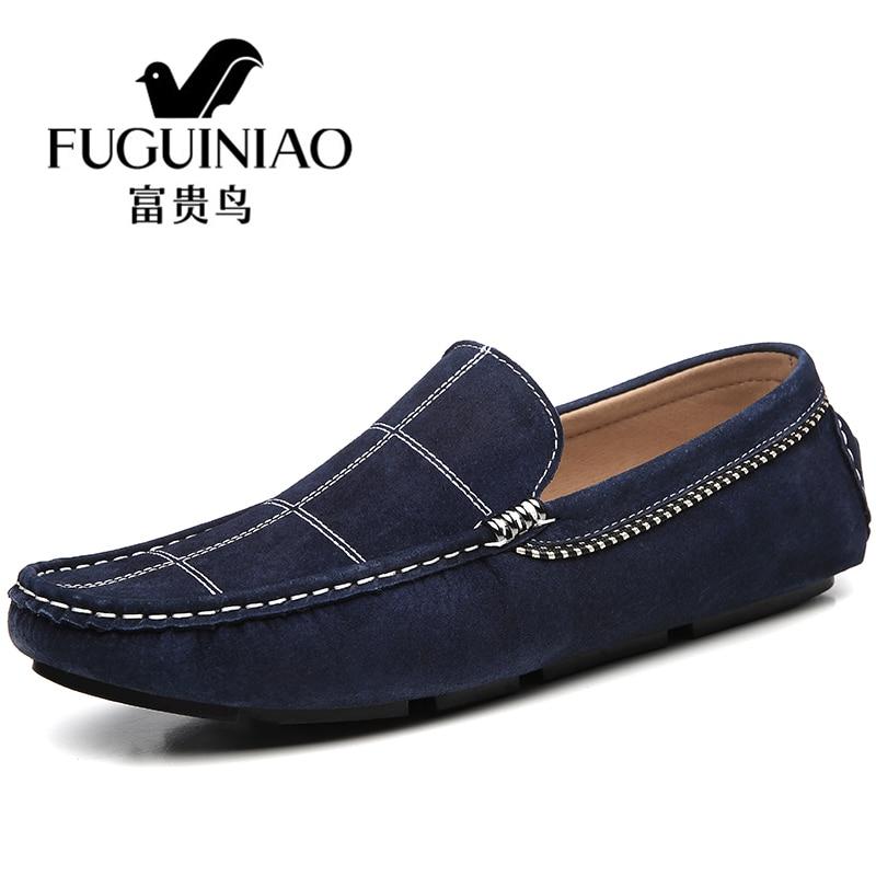 Les chaussures de loisirs Style britannique Sneaker suédé hommes mode anti-glissement Bottine homme Grande Taille 39-44,noir,42