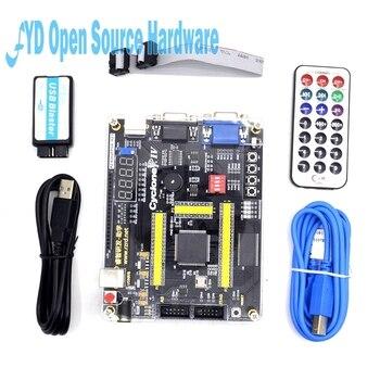 ALTERA Cyclone IV EP4CE6 FPGA, Kit de desarrollo Altera EP4CE NIOSII FPGA, tablero y Blaster USB de descarga, controlador infrarrojo