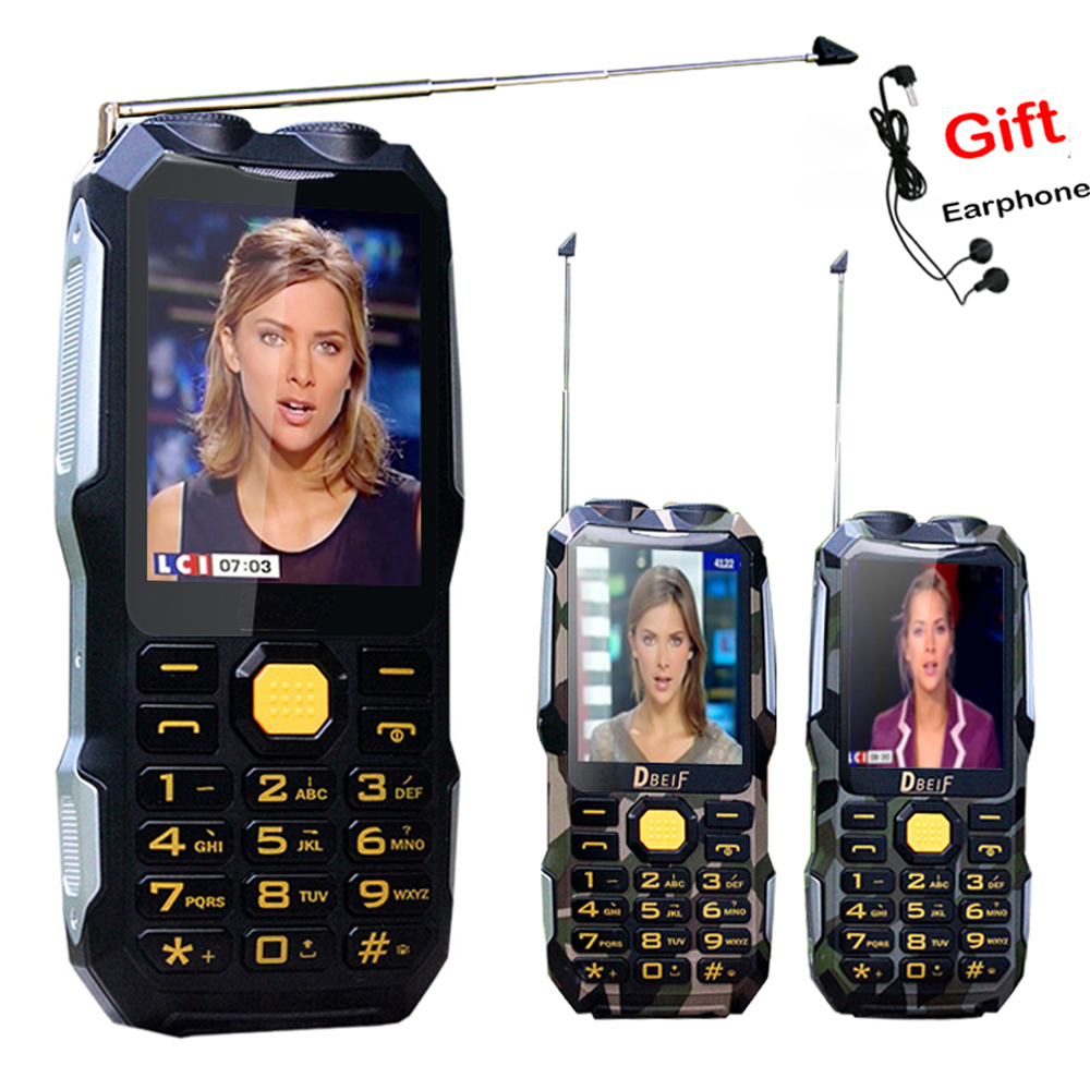 Russisch Dual-zaklamp Extraverte FM magische stemverandering 13800mAh - Mobieltjes