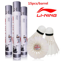 15pcs Tube 5tubes Lot Lining Badminton Shuttlecock A 60extra Goose Feather Flying Stability Durable Birdies Li