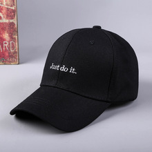 купить Black Baseball Cap Women Men Hip Hop Caps Embroidery Letter Dad Hat Bone Men Rapper Casual  bone gorras Man Cotton Unisex Hats дешево