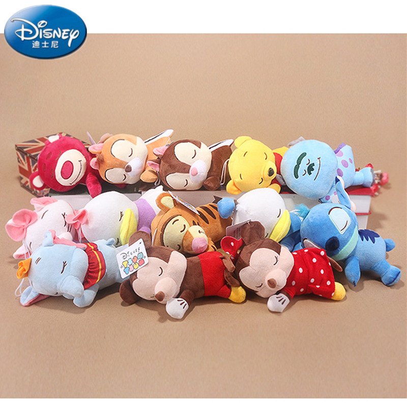New Disney Plush Animal Stuffed Toy Doll Winnie Pooh Mickey Mouse Dog Dumbo Lilo