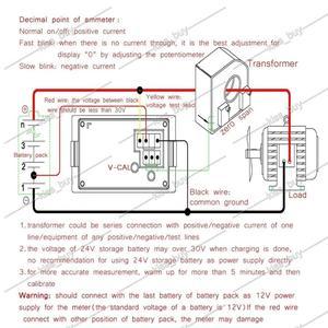Image 5 - Dykb dc 0 〜 600v 0 500Aホール電圧計電流計デュアルディスプレイデジタルled電圧電流計充電放電バッテリーモニター