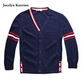 Jocelyn Katrina New Sweaters Boys Cardigan Coats Casual Baby Boys Jackets School Autumn  Sweater Kids Warm Coats