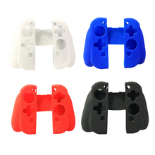 100PCS High quality Silicon Protective Rubber Protector Skin Cover housing shell Case For Switch Controller NS Gamepad Joy-con edt silicon controller cover protective case for ps3 blue black cover