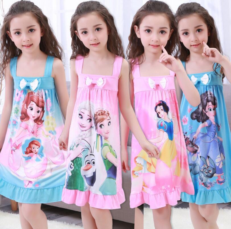 Disney Girls Frozen Nightdress