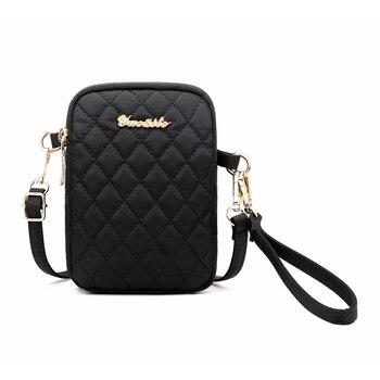 84e6a9e46410 Тканевая мини-сумка женская мода ручная сумка крест-накрест простая сумка  через ...