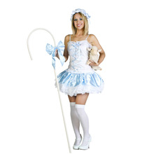 Bayi caliente Atractivo Adulto muñeca de Bobbi Niños cosplay traje para la fiesta de carnaval de Halloween Traje Adulto de calidad superior YBC