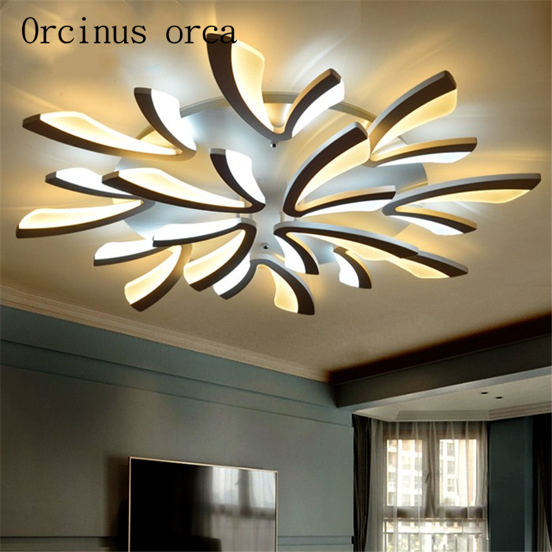 Romantic Bedroom Lighting: LED Ceiling Light Creative Personality Living Room Simple