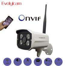 Evolylcam Беспроводной HD 720P 1MP/960 P 1.3MP/1080 P 2MP аудио IP Камера Wi-Fi P2P Onvif безопасности открытый сети Bullet CCTV Камера