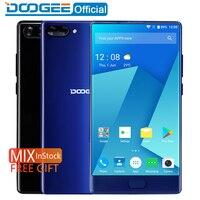 Pre Sale DOOGEE MIX Smartphone Dual Cameras 5 5Inch MTK Helio P25 Octa Core 4GB 6GB