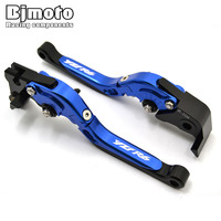 Motorbike Brakes CNC Adjustable Foldable Extendable Brake Clutch Levers Motorcycle For Yamaha YZF R6 2005 2015