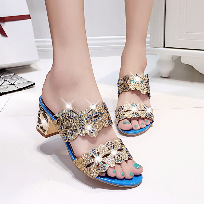 new fashion rhinestone cut-outs women square heel party sandals with butterfly - free shipping! New Fashion Rhinestone cut-outs Women Square Heel Party Sandals with Butterfly – Free Shipping! HTB11Dp2LpXXXXasaFXXq6xXFXXXY