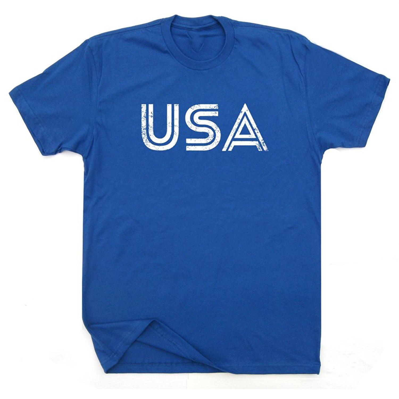 Design your own t shirt made in usa - Gildan Usa T Shirt America American Flag Olympics Sportsy Soccerite Logo Patriotic Vintage Retro Graphic Mens