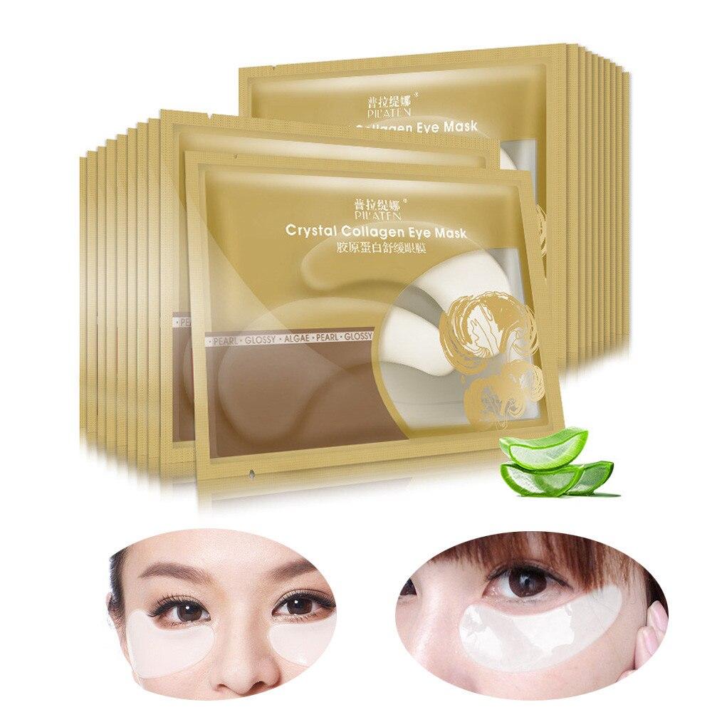 5 Pair Anti-Wrinkle Dark Circle Gel Collagen Under Eye Patches Pad Mask Bag Dark Circle Crystal Mask