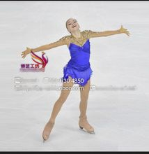 women competition skating dresses for girls custom ice figure skating dress free shipping skating clothing
