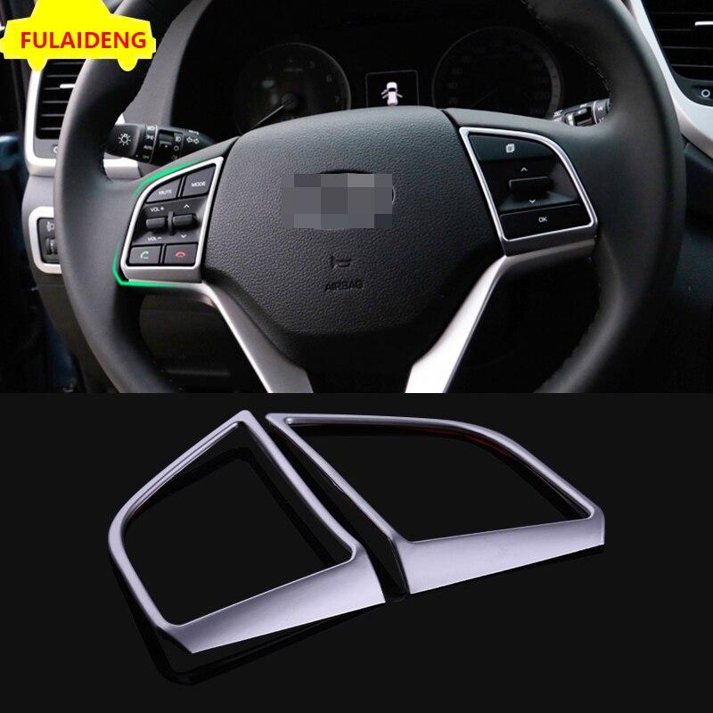 2018 Hyundai Tucson Interior: 2X For Hyundai Tucson 2015 2018 ABS Steering Wheel