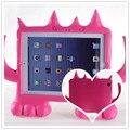 2013 de la NUEVA Historieta 3D del caso del soporte con rincón encantador lindo juguetes funda para ipad 2 3 4 muñecas último unicornio lindo CASO.