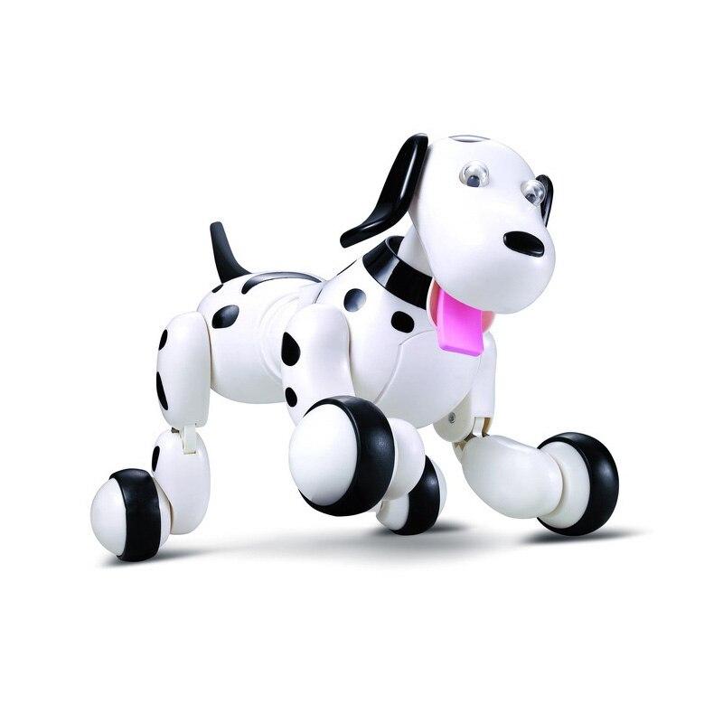 Robot chien télécommande Smart chiot 2.4G sans fil électronique Animal de compagnie jouets éducatifs pour le cadeau d'anniversaire des enfants - 3