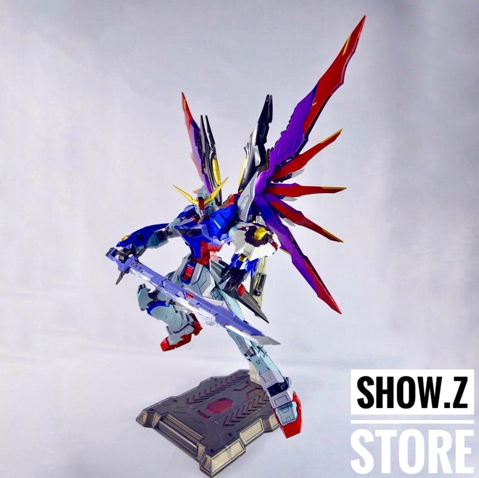 [Show.Z Store] HotStudio MG Destiny Metal Master Grade Oversized Gundam Action Figure