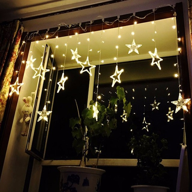 christmas lights outdoor led string warm white christmas decorations for home adornos navidad 2016 natal decoracion