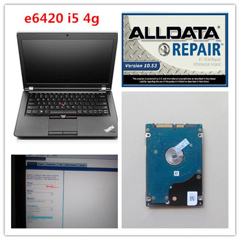 latest installed version alldata and mitchell software auto repair 2in1 with laptop e6420 i5 hdd 1tb all data diagnostic