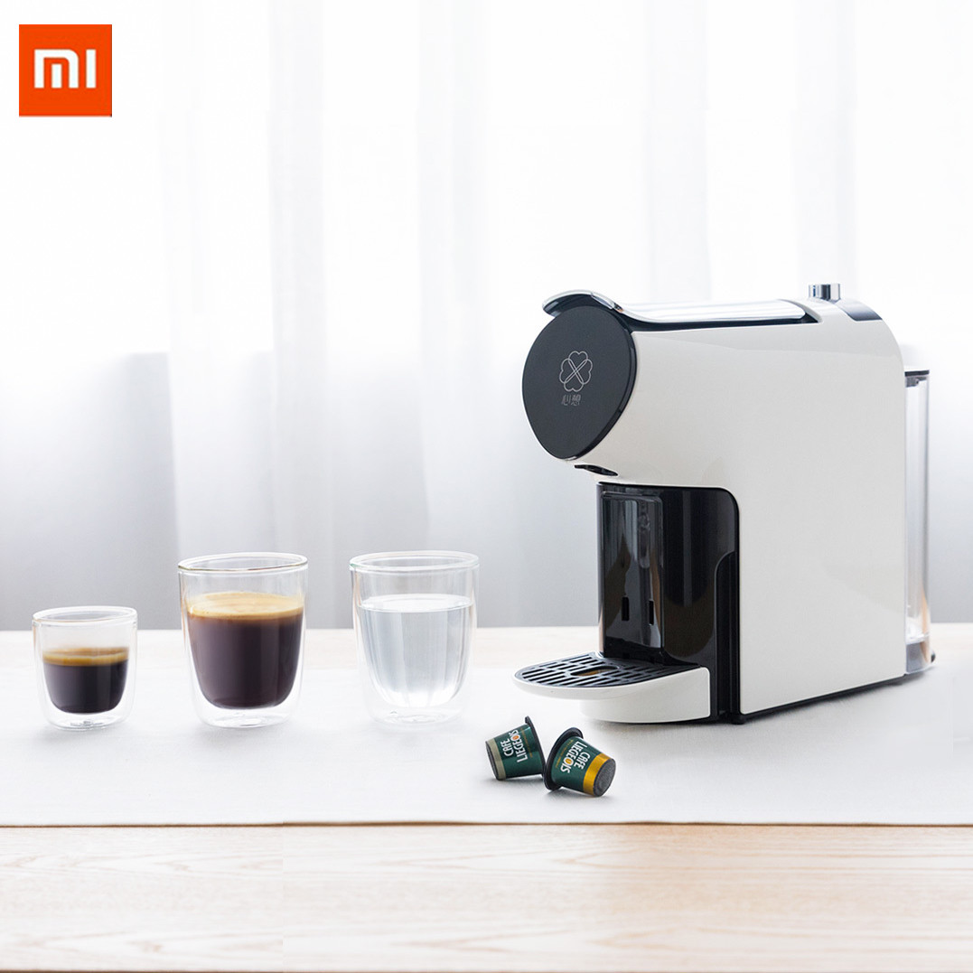 Xiaomi Mijia SCISHARE Smart Automatic Capsule Coffee Machine Extraction Electric Coffee Maker Kettle With APP Control цена 2017