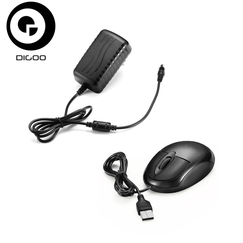 Digoo DG-HLT AC 100-240V 12V 2A Converter Adapter Or Mouse 24W Power Supply For Digoo DG-XME NVR IP Camera Accessories digoo dg bb 2hc durable double head 30cm usb charging power cable for dg mx10 tws wireless waterproof speaker