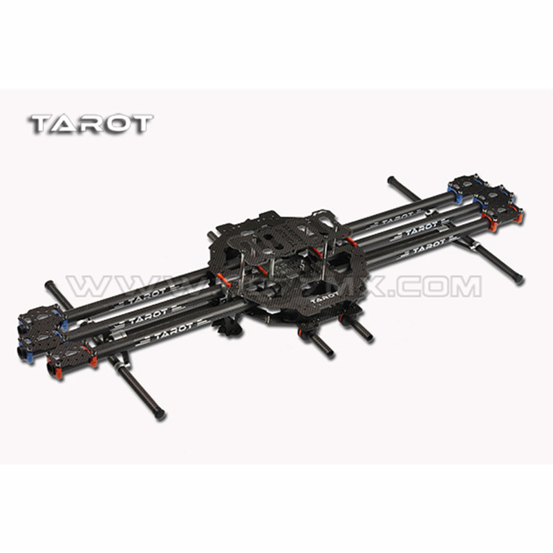 TAROT-RC TL68B01 6 axis Folding Carbon CF Hexacopter FPV Aerial photo frame Multicopter tarot t960 folding hexacopter carbon fiber fpv multicopter six rotor aircraft frame set tl960a f rc photography