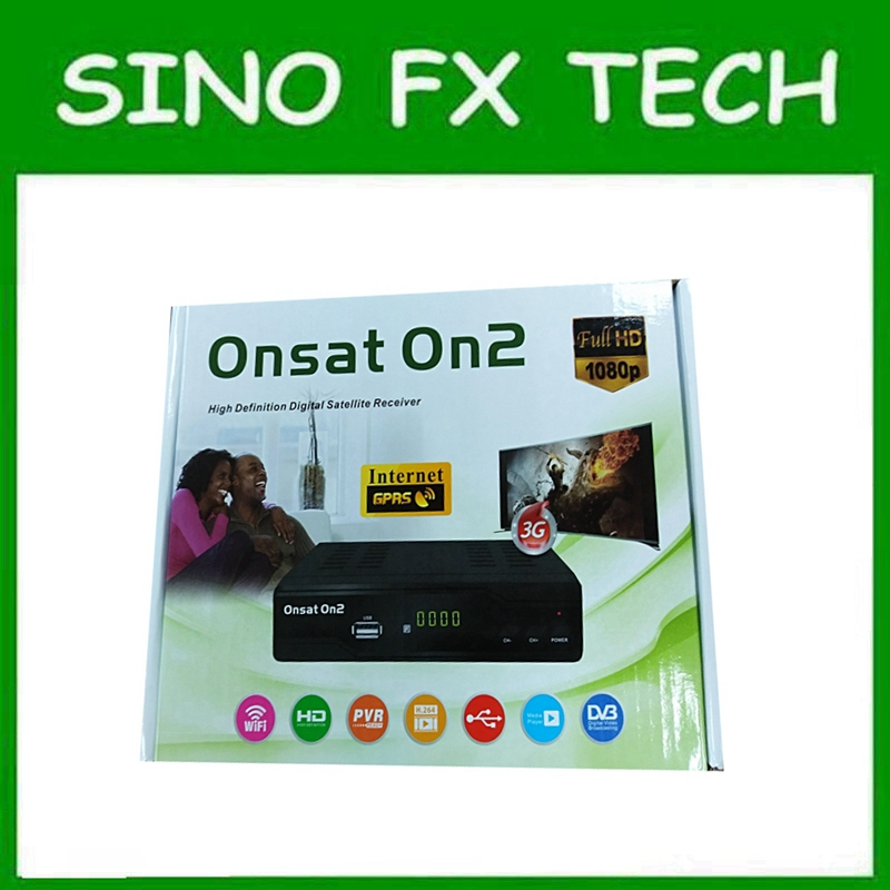 US $50 0 |DHL free 2018 newest Africa Onsat On2 mepg4 gprs DVB S2 decoder  with Tcam account open MYTV & French channels for Africa Areas-in Satellite