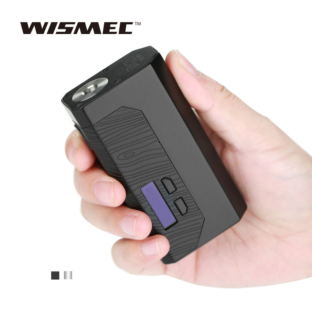 Original WISMEC Luxotic MF Box MECH MOD with 7ml Squonk Bottle Fit with WISMEC Guillotine RDA