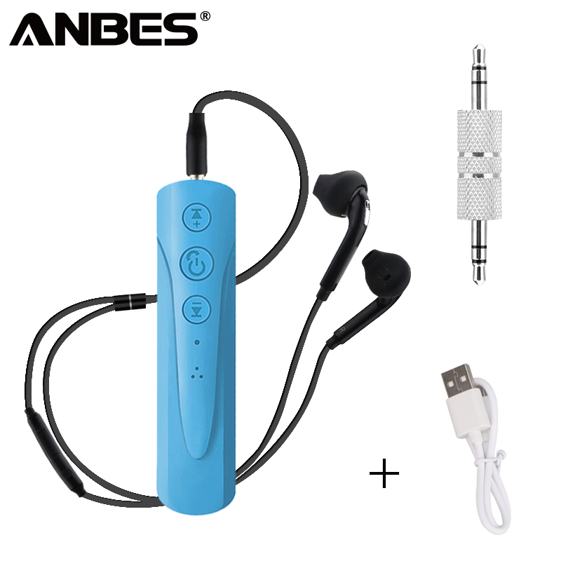 ANBES Sport Bluetooth Earphone Running Wireless Headphones Stereo Headset With Microphone for Iphone Samsung Xiaomi bluedio t4 original wireless headphones portable bluetooth headset with microphone for iphone htc samsung xiaomi music earphone