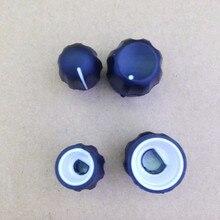 5 cặp/lô âm lượng và kênh knobs đối với motorola gp328, gp338, gp3188, gp3688, gp340, ep450, pro5150 vv walkie talkie