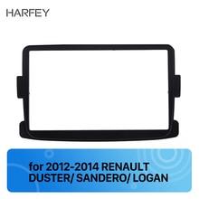 Harfey 2Din авто для стерео-Радио автомобильной фасции для RENAULT Duster LOGAN 2012- интерфейс DVD плеер панель тире крепление НАБОРЫ