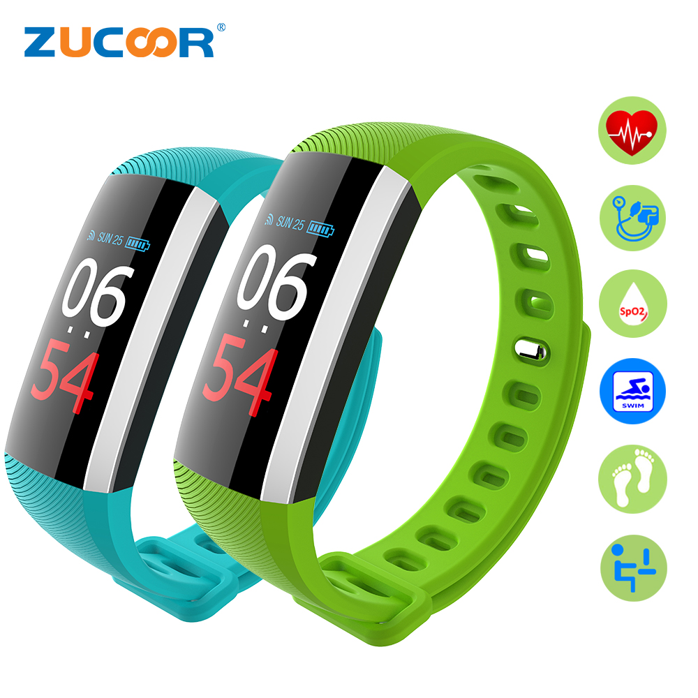 ZUCOOR Smart Wristband Bracelet Heart Rate Monitor Health Band RB97 Activity Tracker Wearable Devices Fitness Bracelets Pk Xaomi
