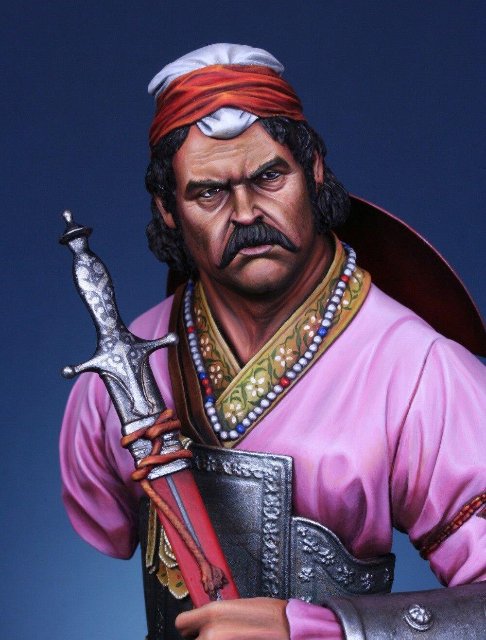 e2f220d35 Sem pintura Kit 1 10 Moghul Da SEGUNDA GUERRA MUNDIAL soldado Guerreiro  busto Figura Resina
