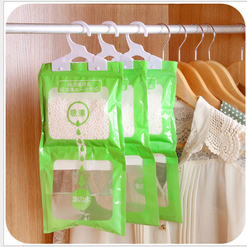Bathroom Kitchen Desiccant Bag Closet Wardrobe Hanging Hygroscopic Dehumidifier Bag Absorbent Deodorizing Moistureproof