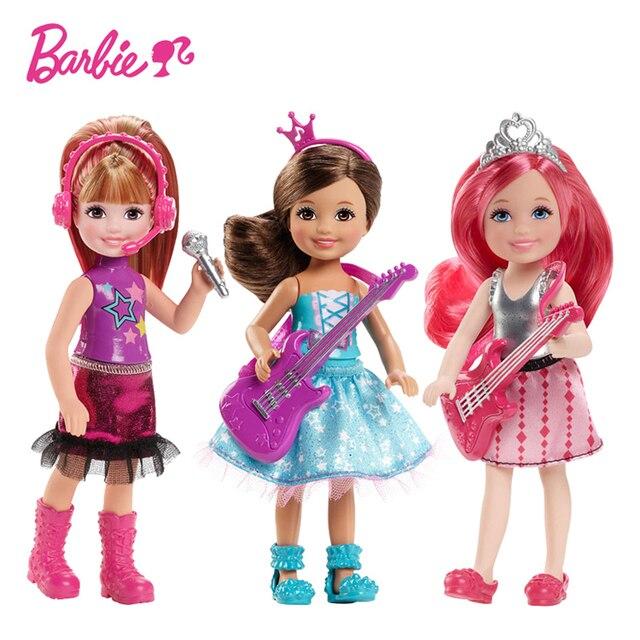 Barbie Poupée Rock Royals Poupée reborn Princesse Petite Kelly Poupée Toys Meilleur De Noël