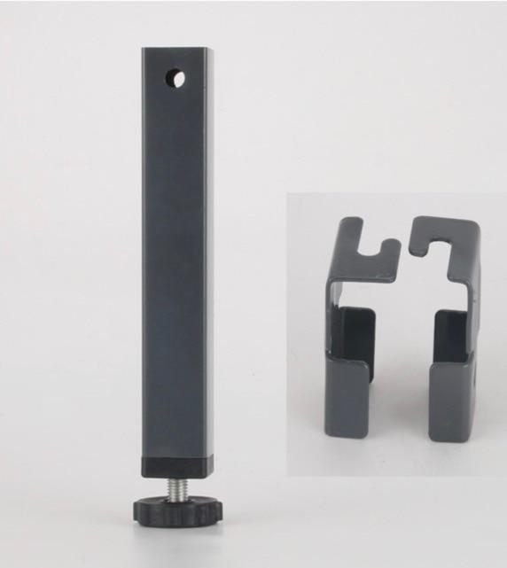 4 шт.. Высота: 150 мм (для 30x30 мм квадратные трубы) pinch поддержки ноги кровать ноги татами кровать ноги