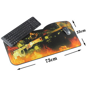 Image 3 - Alfombrilla grande para ratón Pbpad, alfombrilla para teclado de velocidad de 730*330mm, alfombrilla para juegos, alfombrilla de escritorio para juegos para jugadores, escritorio, PC, ordenador portátil
