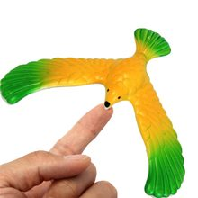 Hot Sale Magic Balancing Bird Science Desk Toy Base Novelty Eagle Fun Learning Gags Toy Gift For Kids(China)