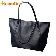 Fabuleux Hcandice Nouveau Simple Hiver Plus Grande Capacité En Cuir Femmes Sac Messenger bolsos mujer sacs en cuir femmes