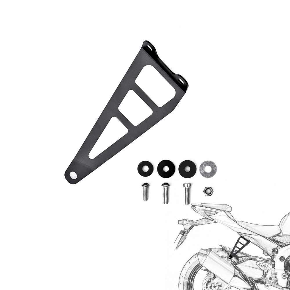 motorcycle exhaust hanger bracket for