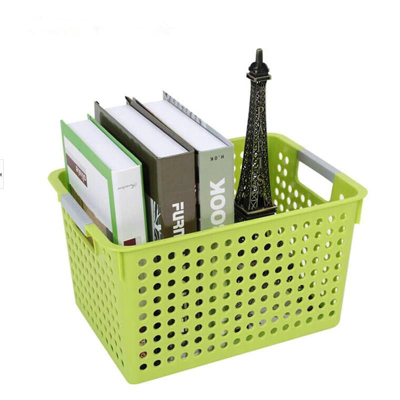 2017 New Rattan baskets kitchen plastic storage box Desktop organize debris storage basket Door Garbage Storage Organization box ...