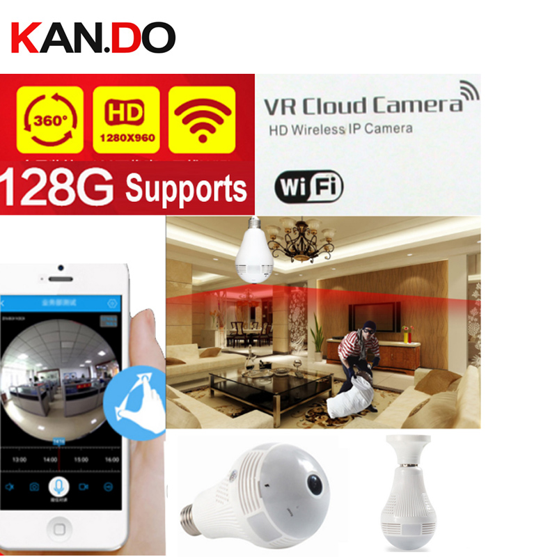 1.3MP HD 960 P 360 Panorama Caméra Wifi IP Caméra CCTV Télécommande interphone Caméra de Surveillance P2P VR caméra prend en charge 128 GB