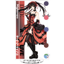 DATE A LIVE 3 Tokisaki Kurumi Nightmare Plastic Toys Double Sided Action Figures Toy High Quality Anime Collection Toys 21cm date a live tokisaki kurumi school uniform figma 16cm japan anime pvc vocaloid figures kids hot toys for children birthday gifts